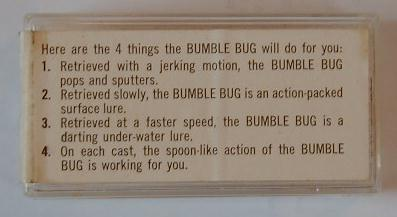 Bumble Bug box