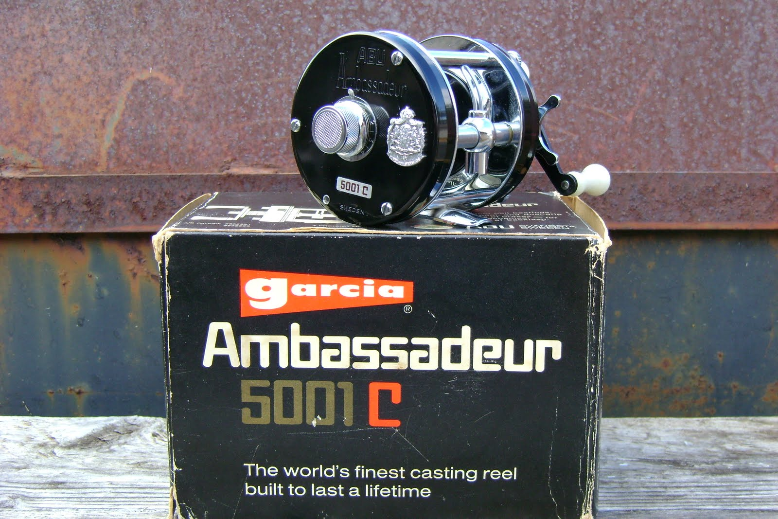 Fred's Classic ABU Reel Information