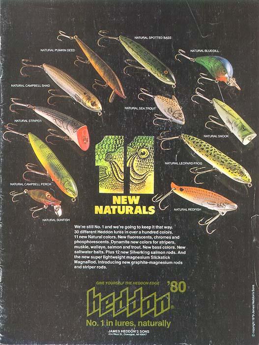 1980 Heddon Catalog