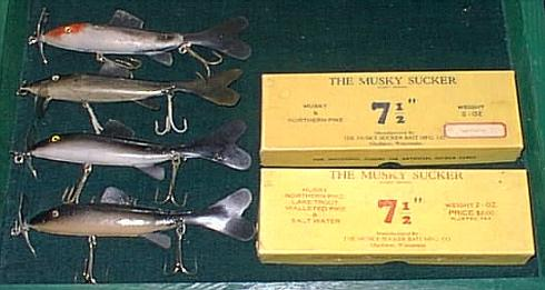 Musky Sucker Lures